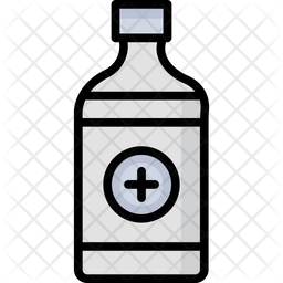 Medicine Bottle Icon Of Colored Outline Style Available In Svg Png Eps Ai Icon Fonts
