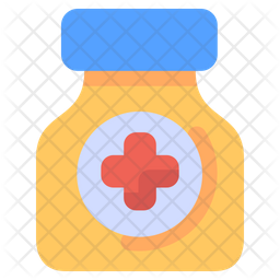 Medicine Bottle Icon Of Flat Style Available In Svg Png Eps Ai Icon Fonts