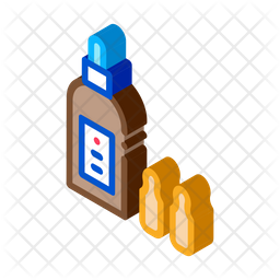 Medicine Bottle Icon Of Isometric Style Available In Svg Png Eps Ai Icon Fonts