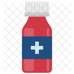 Medicine Bottle With White Cap Icon Of Flat Style Available In Svg Png Eps Ai Icon Fonts