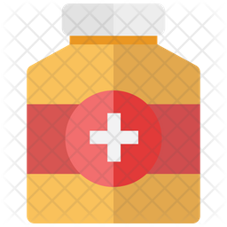 Medicine Jar Icon Of Flat Style Available In Svg Png Eps Ai Icon Fonts