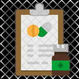 Medicine Note Icon