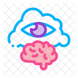 Meditation Brain Icon