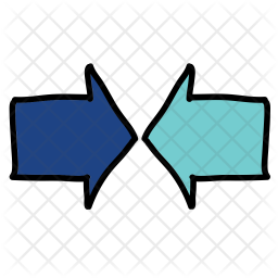 Meeting arrow Icon png