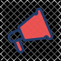 Megaphone Logo Icon