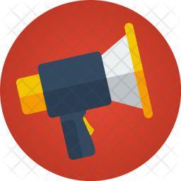Megaphone, Market, Announcement, Marketing, Promotion, Speaker Icon png