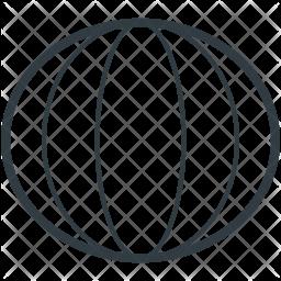 Melon Line Icon