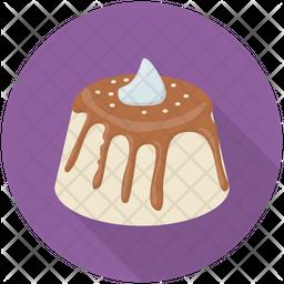 Melted Chocolate Cake Icon