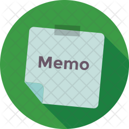 Memo Paper Icon Of Flat Style Available In Svg Png Eps Ai Icon Fonts