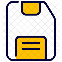 Memory Card Icon Of Colored Outline Style Available In Svg Png Eps Ai Icon Fonts