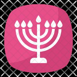 Menorah Emoji Icon