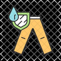 Mens Waterproof Trousers Icon