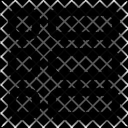 Menu Line Icon