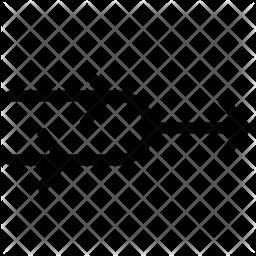 Merge Arrow Line Icon