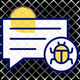 Message Bug Icon