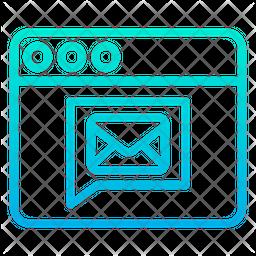 Message Web Icon