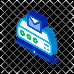 Messaging Isometric Icon
