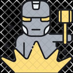 Metalworking Icon