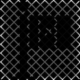 Mexico Flag Glyph Icon
