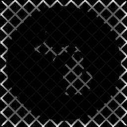 Michigan Glyph Icon