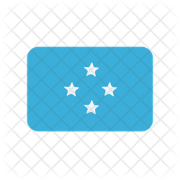 Micronesia Federated Flag Icon