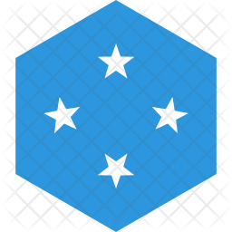 Micronesia federated states Flag Icon
