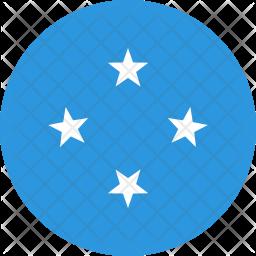Micronesia federated states Flag Icon
