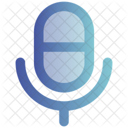Microphone Gradient Icon