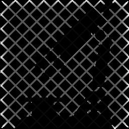 Microscope Glyph Icon