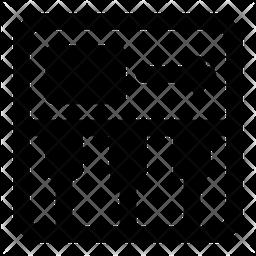 Midi Controller Glyph Icon