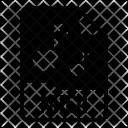 Midi file Glyph Icon