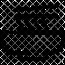 Mie Line Icon