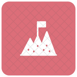 Milestone Glyph Icon