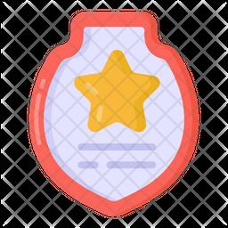Military Shield Flat Icon