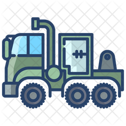 Military Truck Icon