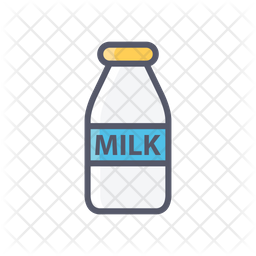 Milk Bottle Icon Of Colored Outline Style Available In Svg Png Eps Ai Icon Fonts
