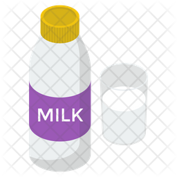 Milk Bottle Icon Of Isometric Style Available In Svg Png Eps Ai Icon Fonts