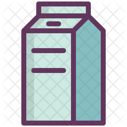 Milk, Can, Bottle, Drink, Food Icon