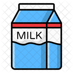 Milk Carton Icon Of Colored Outline Style Available In Svg Png Eps Ai Icon Fonts