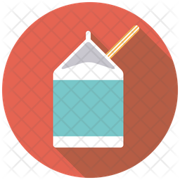 Milk Carton Icon Of Rounded Style Available In Svg Png Eps Ai Icon Fonts