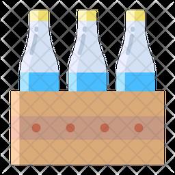 Milkbottles Icon