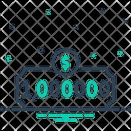 Million Line Icon