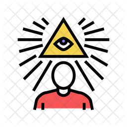 Mind Set Colored Outline Icon