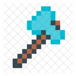 Minecraft axe Icon
