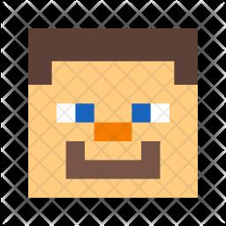 Minecraft man Icon