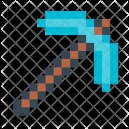 Minecraft pickax Icon