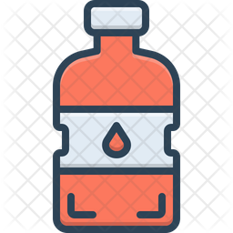 Mineral Bottle Icon