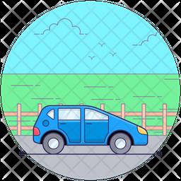 Mini Car Icon
