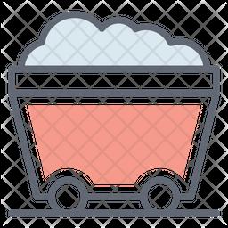 Mining Cart Icon
