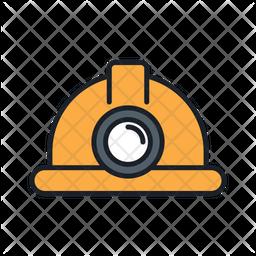 Mining Helmet Icon
